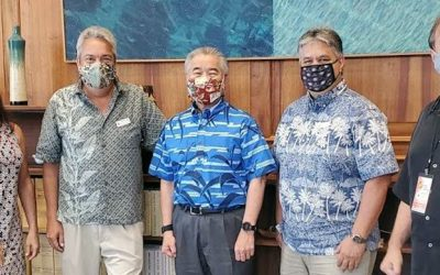 Meeting with Hawaiʻi Governor Ige